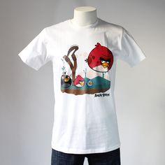 CAMISETA ANGRY BIRDS. Gran variedad de camisetas exclusivas, de diferentes temáticas y gran calidad. 100% algodón. ¡ Encuentra la tuya !
