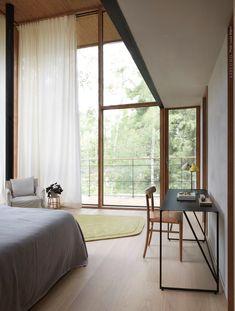 DELIN ARKITEKTKONTOR Compact Living, Swedish Design, Scandinavian Home, Prefab, Small Apartments, Shutters, Tiny House, House Ideas, Construction