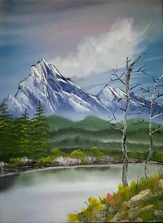 Check out this item in my Etsy shop https://www.etsy.com/listing/214469048/a-landscape-acrylic-painting-hand-done