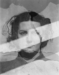 Eleanor (Multiple exposure), 1942 (Harry Callahan)-Eleanor Callahan, the muse for her husband, Harry Callahan, whose varied and sensual photographs of her taken over more than 50 years can be said to rank with Alfred Stieglitz's of Georgia O'Keeffe.