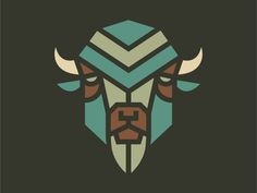Bison by Patrick Moriarty #Design Popular #Dribbble #shots