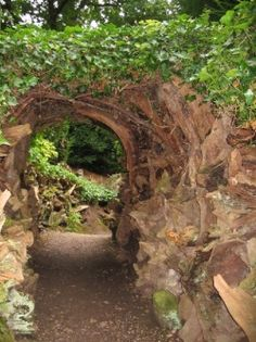 Stumpery at Biddulph Grange Garden