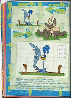 Sandrinha Ponto Cruz: Looney Tunes