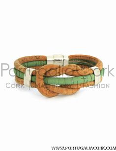 Shop at PortugaliaCork Online Store for cork bracelet. Produced in Portugal from high quality cork fabric, cork jewelry will become you favorite accessory.