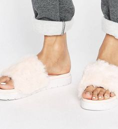 Clothing without a purpose Fur Slides, Purpose, Fashion Outfits, Clothing, Outfits, Fashion Suits, Outfit Posts, Kleding