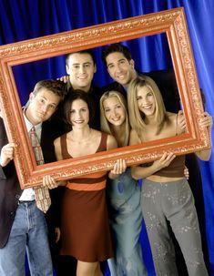 POPULÆR GJENG: Da siste episode av «Friends» ble sendt i 2004 benket hele 55 millioner mennesker seg foran skjermen.