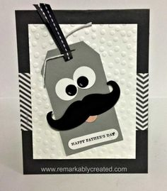 Moustache Framelit from Stampin' UP!