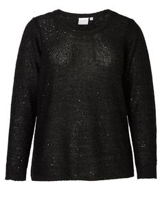 PALLIET LANGÆRMET TOP, Black