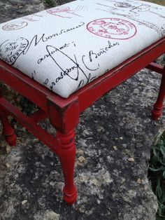 Emporer's Silk - really lovely. Not too overpowering with the red and just the right accent stamp
