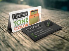 Kenny Williamson from Gruber Cabs contacted us to get another round of cards printed and we couldn't help giving them a little tweak to freshen them up. We changed the back to a dark gray to help it pop and contrast compared to the front. We think they came out great!