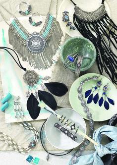 3b0548aa4968 Accesorios artesanales y joyas de plata para el verano con la colección de  Bijou Brigitte 2017