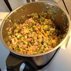 Rezept Käse-Wurst-Salat von Hofmic - Rezept der Kategorie Vorspeisen/Salate