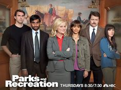Aziz Ansari (STERN '04) and Aubrey Plaza (TSOA '05) star in the TV show Parks and Recreation
