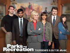Aziz Ansari (STERN '04) and Aubrey Plaza (TSOA '05) star in the TV show Parks and Recreation