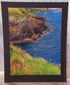 16 x 20 Mounted Original Color Photograph Island Seacoast for Interier Walls | eBay