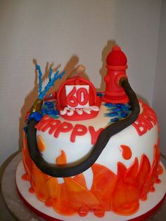 Fireman Birthday (all edible) by enchanted creations by melissa