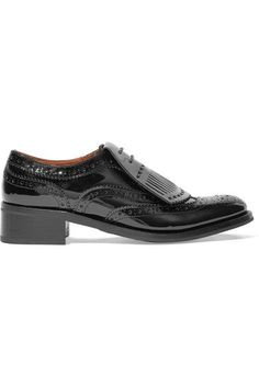 Church's - Constance Patent-leather Brogues - Black - IT39.5