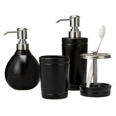 I design on pinterest bath accessories bathroom for Bathroom accessories target