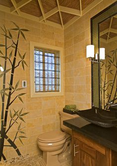 bamboo bathroom design - Bamboo Bathroom Design