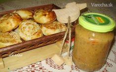 Cuketová nátierka pikantná Vegetable Dishes, Preserves, Pesto, Zucchini, Frozen, Dairy, Cheese, Canning, Chicken