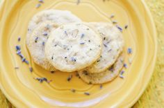 Lavender, Ginger, & Walnut Mini Tea Time Shortbread Cookies (Gluten Free, Vegan, Refined Sugar Free)