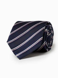 brooksfield men's silk tie product code bftie226 navy