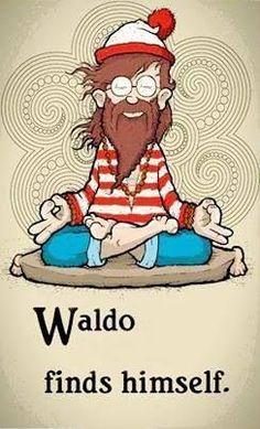 #yoga #yogi #yogapose #yogainspiration #waldo