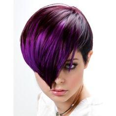 Purple Violet hair colors