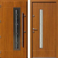 Drzwi wejściowe do domu z katalogu inox wzór 457,1-457,11