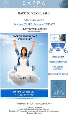 Save on YOUR Back to School!