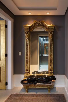 Awesome Large Wall Mirror Decor Ideas Decorating With Large Wall Mirrors Awesome Large Wall Mirror Decor Ideas. Dressing Design, Hall Mirrors, Hallway Mirror, Mirror Mirror, Unusual Furniture, Mirror Furniture, Antique Frames, Antique Mirrors, Victorian Mirror