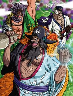 One Piece Fanart, One Piece Anime, Blackbeard One Piece, Brooks One Piece, One Piece Wallpaper Iphone, Susanoo Naruto, One Piece World, Monkey D Luffy, Roronoa Zoro