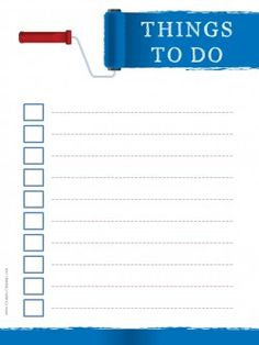 To Do List Printable  Printables    Template And Free