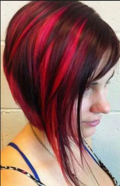 If you are looking for a new, bright and eye-catching hair color this bob hairstyles with red hair color shades will be your guide to a beautiful hair color. Red Hair Color, Cool Hair Color, Hair Colors, Elumen Hair Color, Red Color, Short Bob Hairstyles, Cool Hairstyles, Hairstyle Ideas, Wedding Hairstyles
