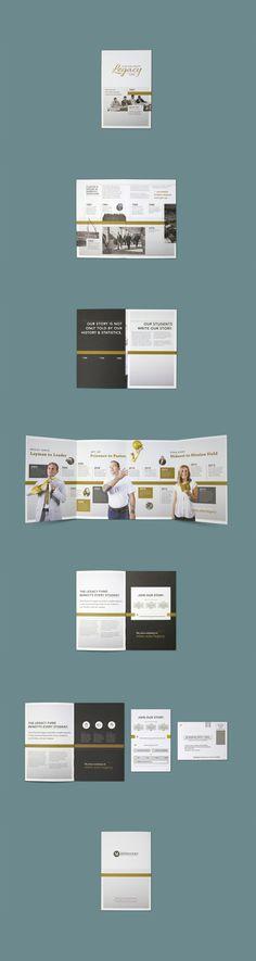 Legacy Fund Campaign by Jason Wright - Eine Plattform mit allen Designs Web Design, Graphic Design Layouts, Book Design, Print Design, Graphic Art, Brochure Inspiration, Layout Inspiration, Graphic Design Inspiration, Editorial Layout