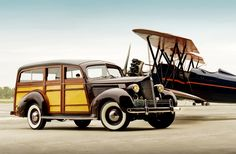 Packard Woodie Wagon--I did not know that Packard had made a station wagon.  I want one. I want everything and anything Packard.