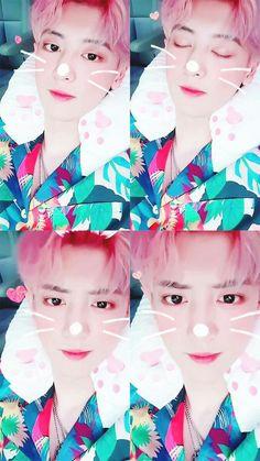why is he doing this to my heart. Sehun And Luhan, Chanyeol Cute, Park Chanyeol Exo, Taemin, Shinee, Exo Group, Exo Official, Do Kyung Soo, Chanbaek