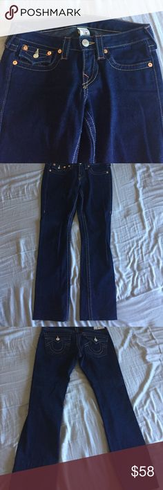 True Religion Jeans super fitting but comfy 💎True Religion fit like a stretch look💎( addtl. Items listed for sale also:) ) True Religion Jeans Flare & Wide Leg
