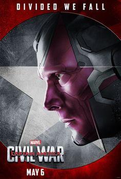 Captain America: Civil War - Team Iron Man - Vision