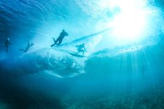 Underwater at Off the Wall.