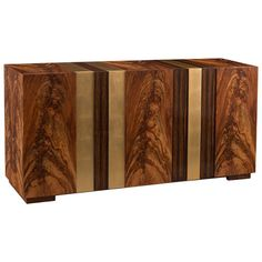 Shop the John-Richard Bear Modern Lodge Ebony Veneer Brushed Gold Cabinet and other Buffets & Sideboards at Kathy Kuo Home Media Furniture, Art Deco Furniture, Funky Furniture, Cabinet Furniture, Furniture Styles, Black Furniture, Furniture Storage, Painted Furniture, Furniture Design