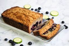 Have a plethora of zucchini to use? These zucchini bread recipes are delicious and easy ways to use it all up! Fresh, full of flavor and tender, you can eat zucchini bread for breakfast, lunch or dessert. Moist Zucchini Bread, Blueberry Zucchini Bread, Chocolate Zucchini Bread, Zucchini Bread Recipes, Blueberry Recipes, Banana Bread, Homemade Muffins, Light Desserts, Sweet Bread