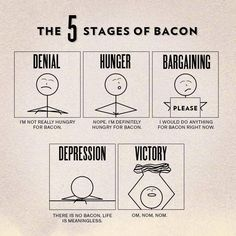 I have been through all five stages.  LOL!