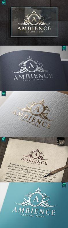Ambience - Luxury Logo Design. Wedding Fonts. $25.00