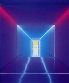 James Turrell - Light sculpture that you can walk through