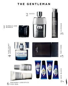Gifts for the Gentleman. #GiftExtraordinary #Sephora
