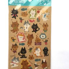 Cat Stickers  Nyanko  Neko Stickers  Kawaii Cat by TheCatStore