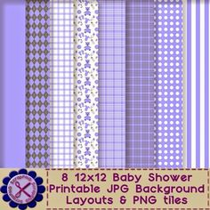 Entire baby shower printable collection FREE downloads!
