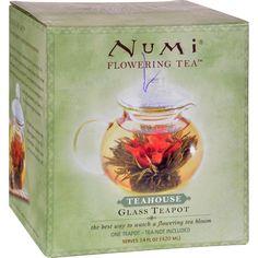 """Numi Teas Glass Teapot """"Teahouse"""" 14 oz - 1 Teapot"""