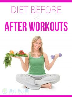The food that you eat before and after workout will determine how much muscle you will gain and how much fat you will lose... : #diet